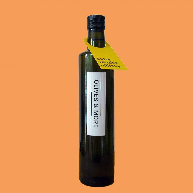 extra vergine olijfolie van arbequina olijven geschikt voor verhitten