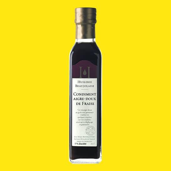 Echte goede natuurlijke Aardbei azijn Strawberry vinegar Amsterdam