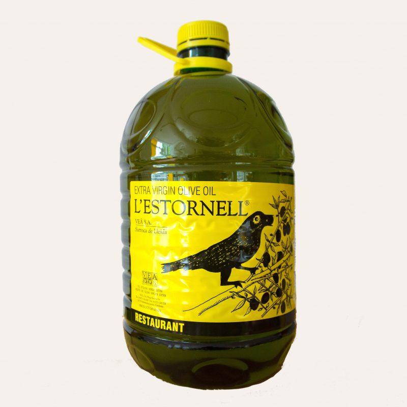 extra vergine olijfolie van arbequina olijven geschikt voor verhitten bakken braden