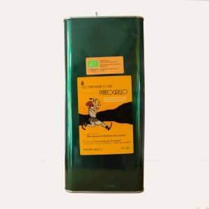 vijf liter blik italiaanse biologische olijfolie extra vierge koudgeperst